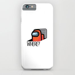Where Imposter Among Us iPhone Case