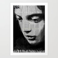 voyage Art Prints featuring voyage by LouiJoverArt