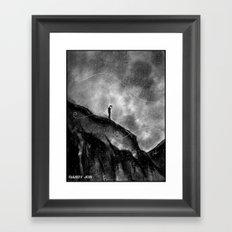 The Melancholy Zone Framed Art Print