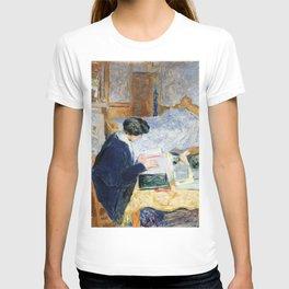 Edouard Vuillard - Lucy Hessel lisant - Digital Remastered Edition T-shirt