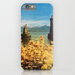 retro Lindau im Bodensee poster iPhone Case