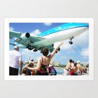 airplane Art Prints featuring Airplane! by Noah Bolanowski