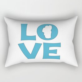 LOVE TAHOE Rectangular Pillow