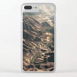 Amazing Earth - Green River Clear iPhone Case
