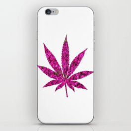 Cannabis Rainbow Design (45) iPhone Skin