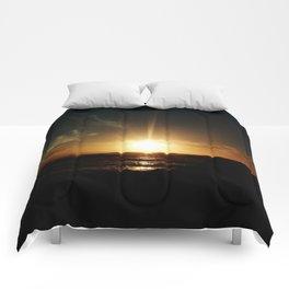 Sunset at Tenerife Comforters