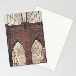 Moody Brooklyn Bridge Stationery Cards
