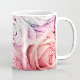 Some people grumble II  Floral rose flowers pink and multicolor Coffee Mug