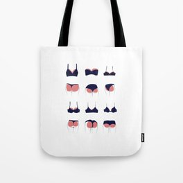 Butts & Bras Tote Bag