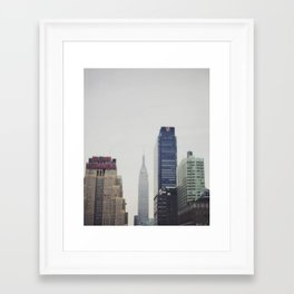 Impressions of a City Framed Art Print