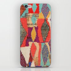 Moroccan rug pattern animal abstract modern iPhone & iPod Skin