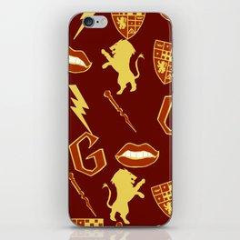 Daring- Gryffindor iPhone Skin