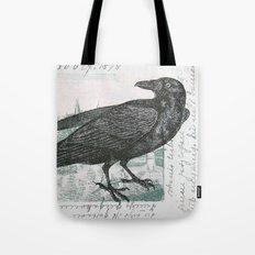 Raven of Marburg - Square Tote Bag