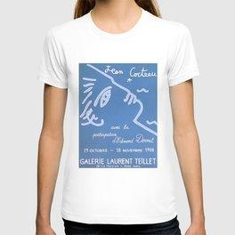 Jean Cocteau Exhibition Poster T-shirt