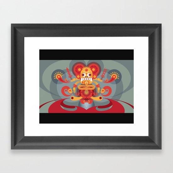 Koi Mouse Framed Art Print