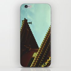 tile roof iPhone & iPod Skin