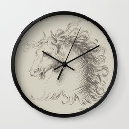 Head of a horse Wall Clock