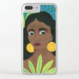 Imani Clear iPhone Case
