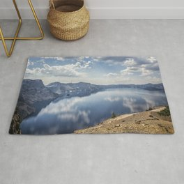Crater Lake with a view of the Phantom Ship Rug