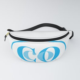 Coco In Blue Fanny Pack