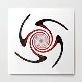 Heavenly Movement Symbol Metal Print