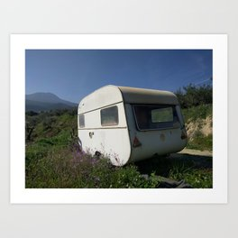 Caravana Art Print
