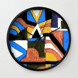 Ndebele Wall Clock