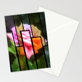 Pink Roses in Anzures 3 Tinted 1 Stationery Cards