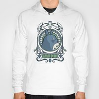 hallion Hoodies featuring Forest Spirit Nouveau by Karen Hallion Illustrations