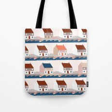 A house by the sea Tote Bag