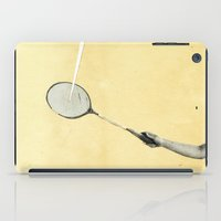 tennis iPad Cases featuring Tennis by Cassia Beck
