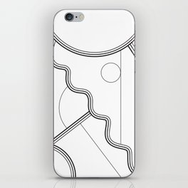 White Magic II iPhone Skin