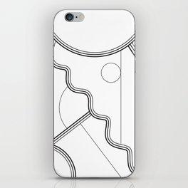 White Magic II iPhone Skin