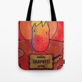 Ciarpotti from Mercury (Guitar) Tote Bag