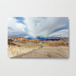 Mountains of Death Valley Metal Print