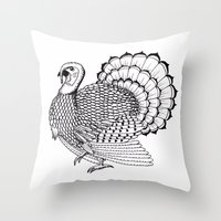 turkey Throw Pillows featuring Turkey by Martin Stolpe Margenberg