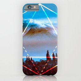 The Elements Geometric Nature Element of Air iPhone Case