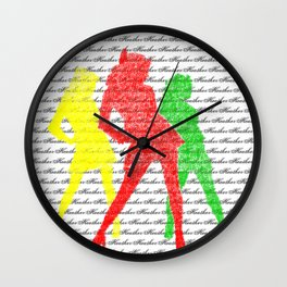 Welcome to my Candy Store Wall Clock