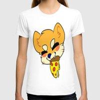 shiba T-shirts featuring SHIBA PIZZA by Samedi J.