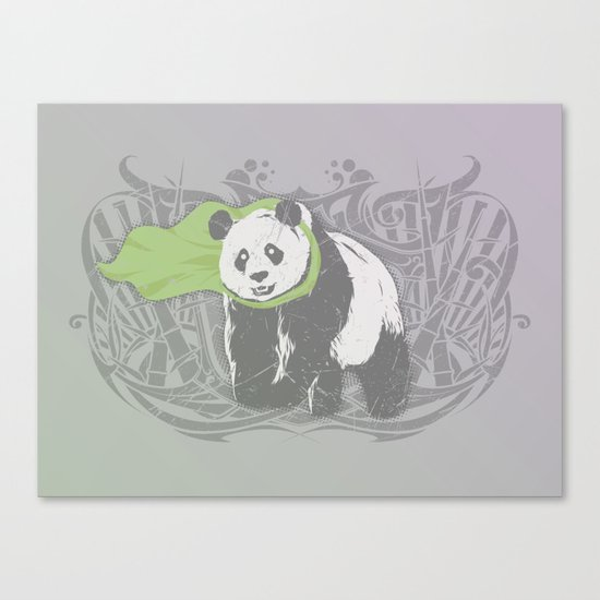 Fearless Creature: Bam Canvas Print