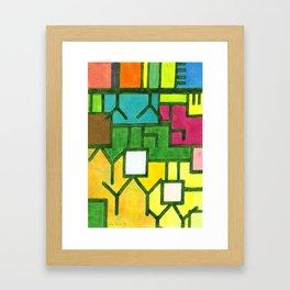 The Filling Line Framed Art Print