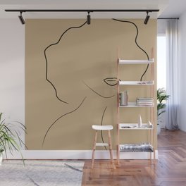 Her Fro Her Lips Wall Mural
