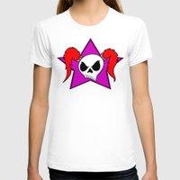 rock n roll T-shirts featuring Rock-N-Roll Brat  by Los Espada Art