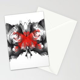 halloween butterfly Stationery Cards