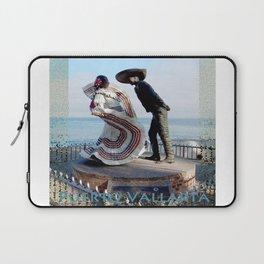 Puerto Vallarta, Mexico Sculpture by the Sea Laptop Sleeve