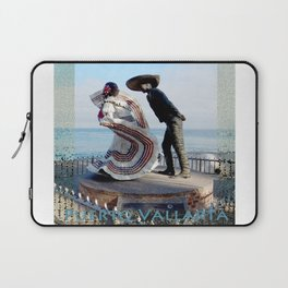 Puerto Vallarta, Mexico Sculpture by the Sea Laptop Sleeve