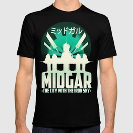 Final Fantasy VII - City with the Iron Sky T-shirt