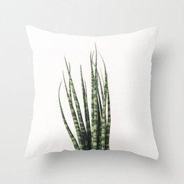 Trendy Cactus plant Throw Pillow