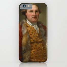 Anton von Maron - Portrait of Archibald Menzies (1763) iPhone Case