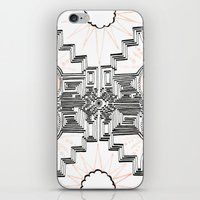 gatsby iPhone & iPod Skins featuring Gatsby Mandala by HRE.